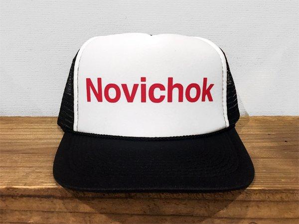 画像1: 【50%OFF】NOVICHOK / MESH CAP (ENGLISH) (1)