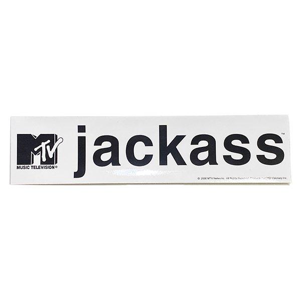 画像1: jackass / ステッカー (LOGO) (1)