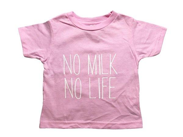 画像1: NO MILK NO LIFE Tシャツ / (PINK) (1)