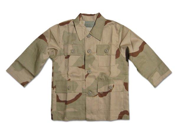画像1: 【50%OFF】KIDS BDUシャツ / 3C DESERT CAMO (1)