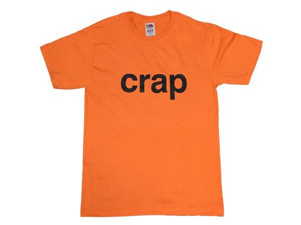 画像1: 【SALE】CRAP Tシャツ (ORANGE) (1)