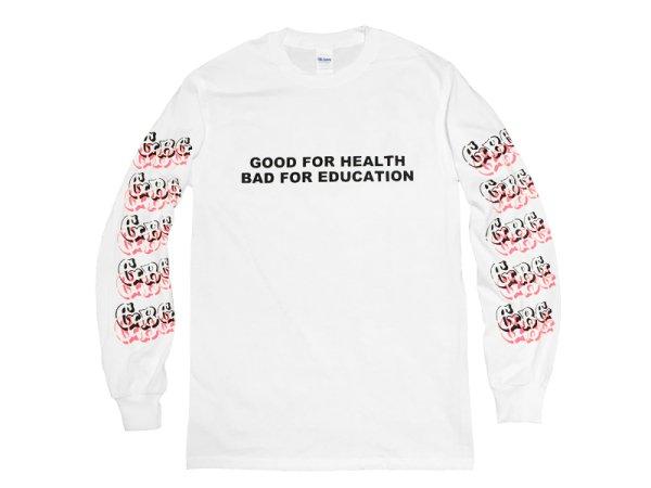画像1: GUERRILLA BASE GALLERY ロングスリーブTシャツ / GOOD FOR HEALTH (MULTI) (1)