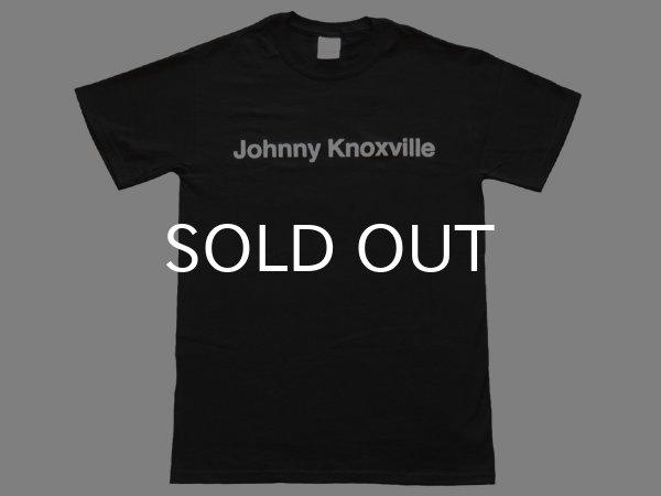 画像1: Johnny knoxville Tシャツ (BLACK) (1)