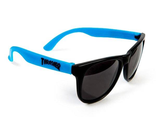 画像1: THRASHER / SUNGLASS サングラス (BLUE) (1)